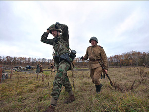 Украинская ДРГ в полном составе сдалась в плен ополчению ДНР
