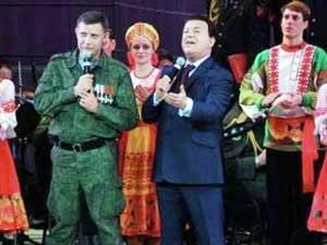 Иосиф Кобзон спел дуэтом с Александром Захарченко