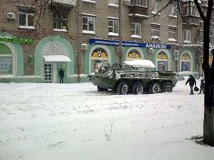 Каратели обстреливают Горловку и Докучаевск