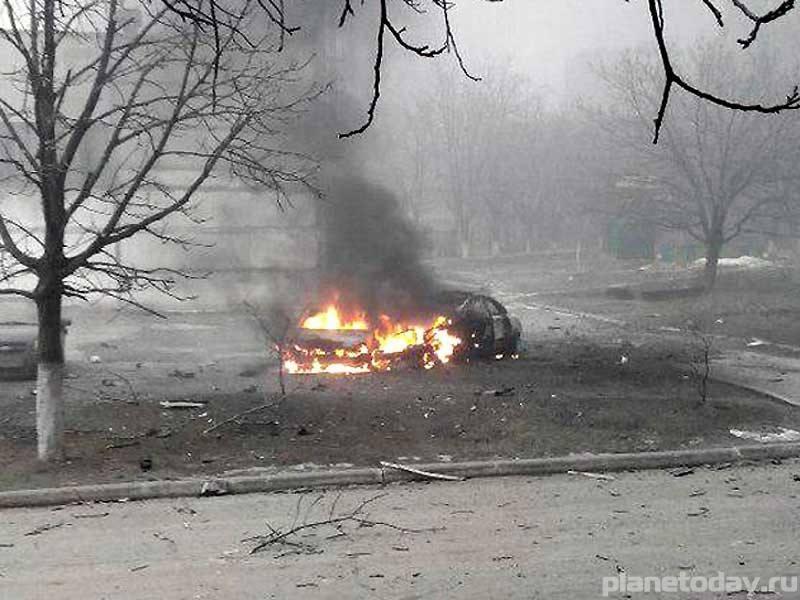 Жители Мариуполя назвали обстрел провокацией ВСУ