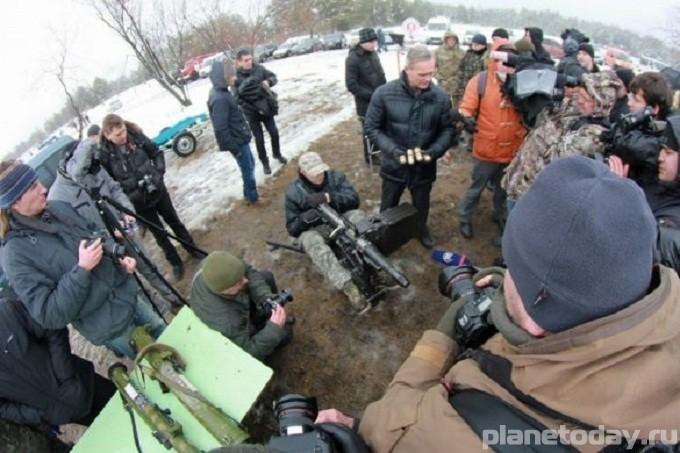 Украинскую армию хотят вооружить огнеметами