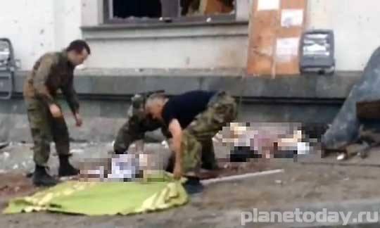 Украинская артиллерия обстреляла больницу в Донецке
