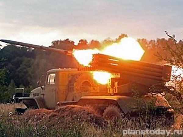 Луганская область под обстрелом «Градов»