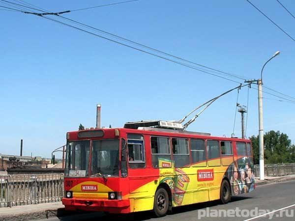 В Луганске восстановили троллейбусные линии