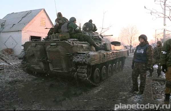 Отвод вооружений в ЛНР - выводы наблюдателей