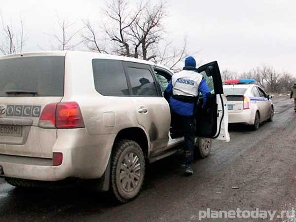 Перед наступлением хунты ОБСЕ убирают линию разграничения на Донбассе