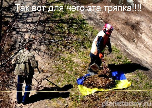 Клоунада в государстве Украина