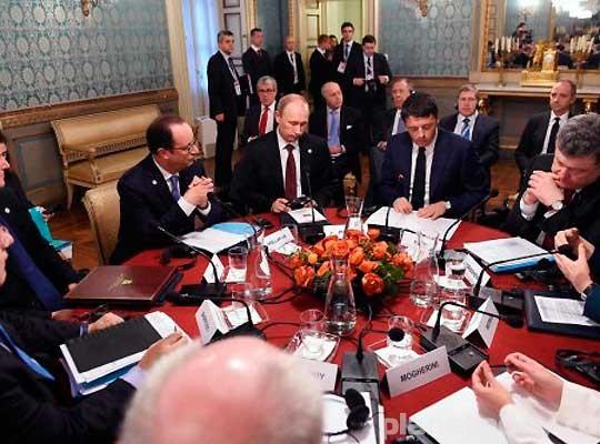 МИД РФ: нормандская четверка обсудит начало диалога Киева и Донбасса