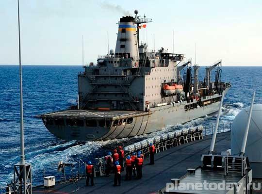 ВМФ США виртуально проиграл Ирану в Персидском заливе