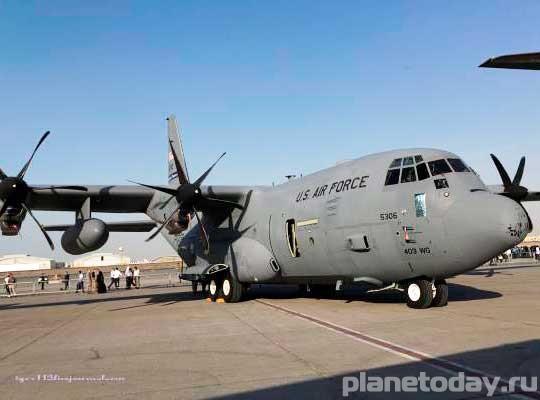 Самолеты НАТО начали доставку оружия в Днепропетровск