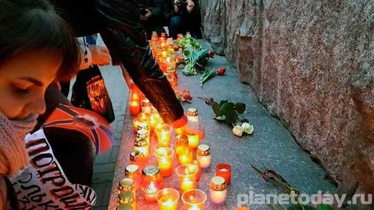 Митинг в память о погибших детях Донбасса