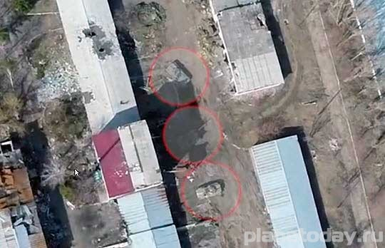 Ополченцы обнаружили в поселке Пески неотведенную технику ВСУ