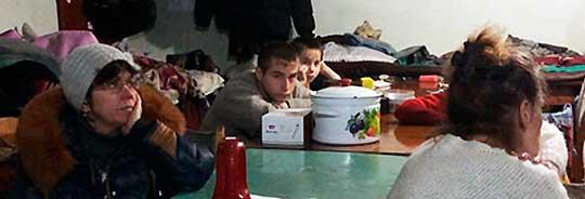 Жители Дебальцево вынуждены жить в подвалах - домов больше нет