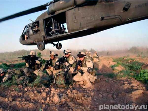 Высадка американских десантников