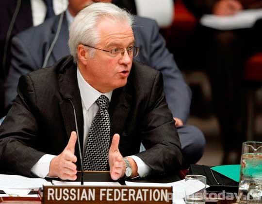 Виталий Чуркин в ООН - защита России и Донбасса