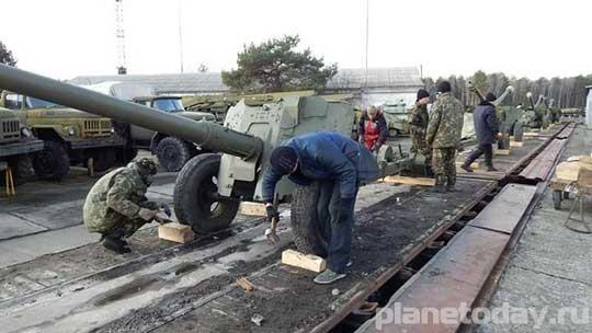 Украина готовит советские пушки к войне в Донбассе