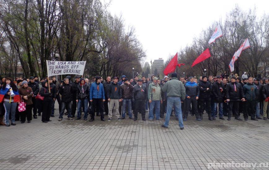 В Запорожье на антиправительственном митинге людей избили за требование не отменять соцвыплаты