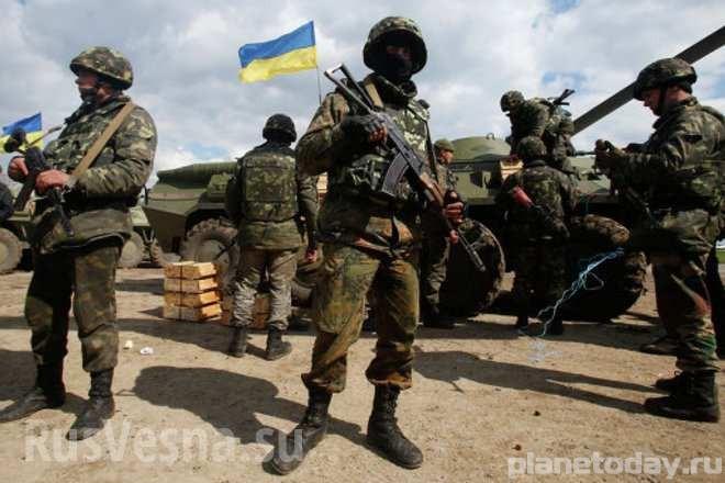 Новый позор украинской армии