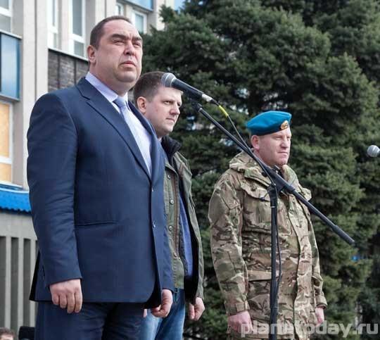 6 апреля — день взятия СБУ в Луганске