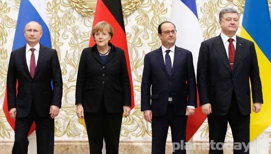 Европа продолжает дожимать Украину