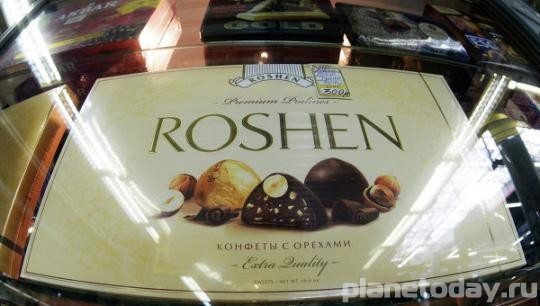 В Липецке арестовано имущество фабрики Roshen Петра Порошенко