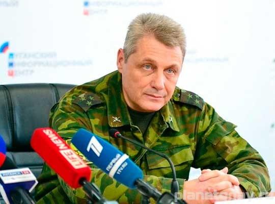 начштаба Народной милиции ЛНР Сергей Козлов