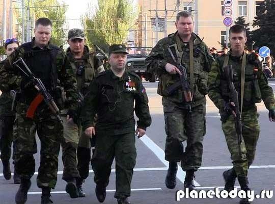 Погода на Донбассе - летние затяжные... бои