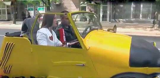 К 1 мая в столице Республики организовали выставку ретро-автомобилей и мототехники