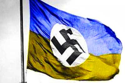 Лещенко: Глава ДНР передал наблюдателям ОБСЕ трофейный украинский флаг со свастикой