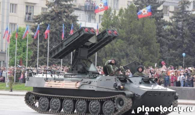 День Победы в Донецке. Сегодня и год назад