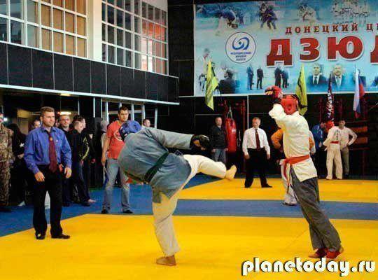 Состоялся первый чемпионат ДНР по рукопашному бою