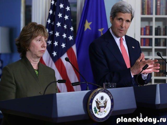 Керри предупредил ЕС о последствиях в случае снятия санкций с РФ