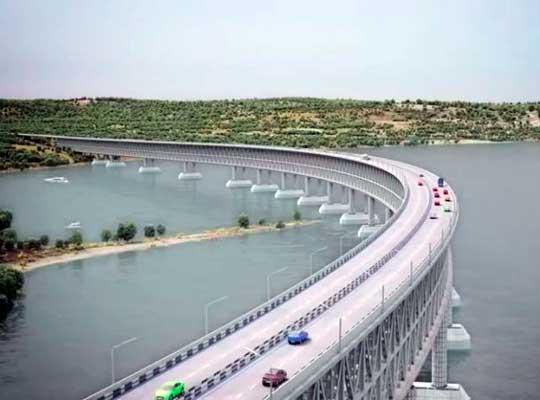 Россия строит мост без разрешения Украины — Турчинов