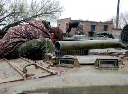 В Донецком аэропорту отмечается резкое обострение ситуации