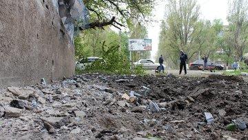 Новости из Новоросии - Горловка под жестким обстрелом