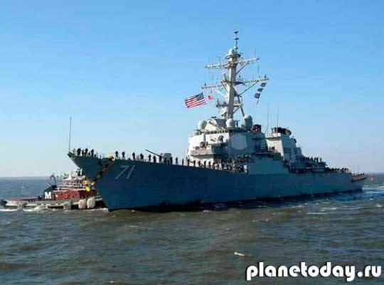 21 мая в Черное море войдет американский эсминец