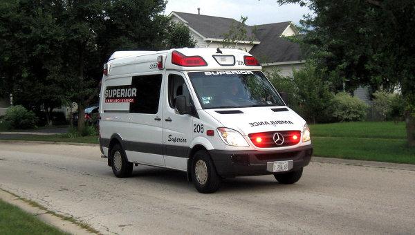 Новая полиция заблокировала «Скорую помощь» с пациентом