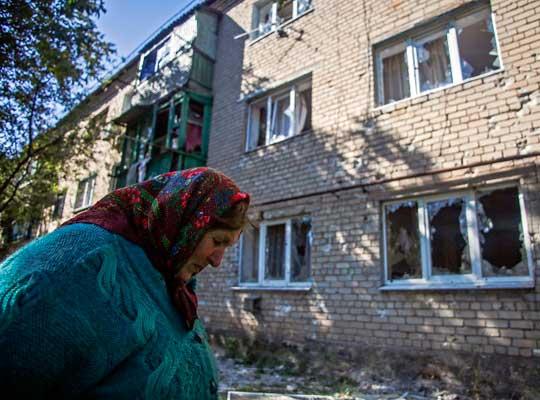 Киевский район Донецка подвергся минометному обстрелу