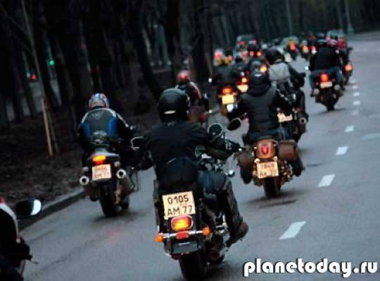В Германии «Ночным волкам» преградила путь полиция