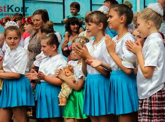 День защиты детей в Луганске
