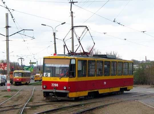 В Луганске восстанавливается трамвайное движение