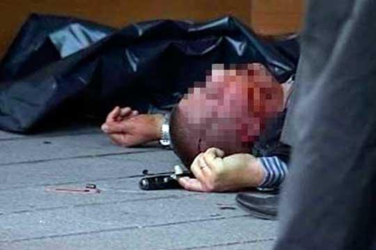 Расстрел одесских милиционеров