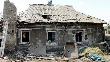 Старобешевский район Донецкой области подвергся обстрелу