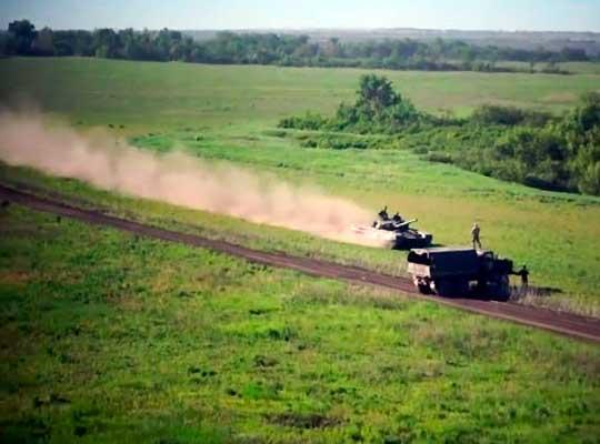 Танковый стритрейсинг в ЛНР