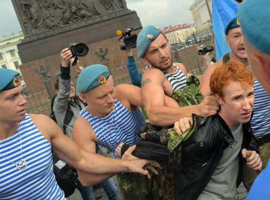 В Архангельске подана заявка на гей-парад в День ВДВ