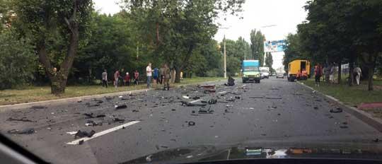 Взорвана машина секретаря главы ДНР