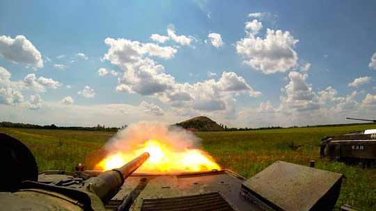 Хочешь мира — готовься к войне. Учения армии ДНР