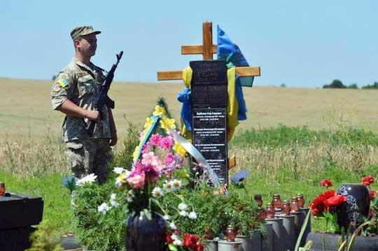 На горе Карачун поставили крест в честь украинских «освободителей»