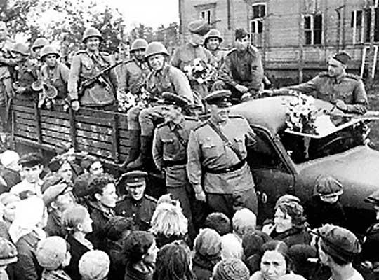 Красная армия освобождала Донбасс