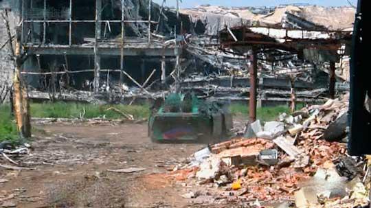 Ополченцы подавили обстрел кварталов Донецка танками ВСУ